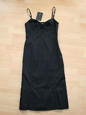 BNWT SportMax By MaxMara Sexy Black Dress LBD Sz IT 42 UK 10