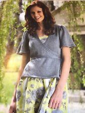 Ladies Wrap Tie Cardigan Knitting Pattern Simply Knitting DK
