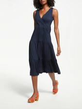 BODEN New Nicole Jersey Dress - Navy - UK 6 L - 2018