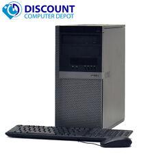 Dell Optiplex 960 Windows 10 pro Desktop PC Tower 3.0GHz Core 2 Duo 4GB 1TB