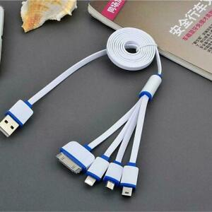 4 in 1 Universal Multiple USB Charger Cable For iPhone Android Samsung HTC LG