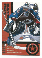 1999-00 Pacific Omega 5 Star Talents #26 Patrick Roy Colorado Avalanche