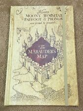Harry Potter Marauders Map Hard Cover Journal Brand New!