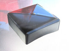 """4"""" Square Tubing Vinyl End Cap Cover - Post Tube Vinyl Rubber Plastic 4x4 PVC"""