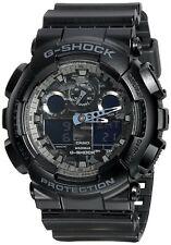 Casio Men's G Shock Black Digital & Analog Quartz Watch GA100CF-1A