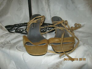 Newport News Sandals Brown Strap 6