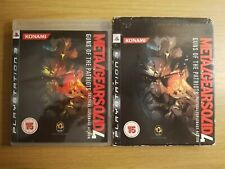 Metal Gear Solid 4: Guns of the Patriots for Sony PS3 with Sleeve - Free UK POST