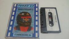 JUEGO CASSETTE TURBO 64 COMMODORE 64 128 CMB 64 C64 PAL