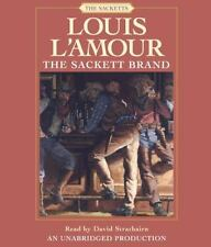 Louis L'Amour SACKETT BRAND Unabridged CD *NEW*$25+ Value FAST 1st Class Ship!