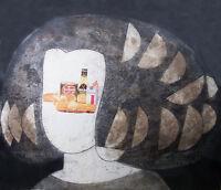Manolo Valdes.Grabado al Aguafuerte y Collage.Obra numerada y firmada a mano