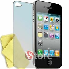3 x Film for IPHONE 4 4S 4th Screen Protector Display Apple Retro + Cloth