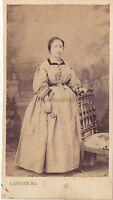 J.Garnier Fotografia A Avignon Ritratto Studio CDV Vintage Albumina Ca 1860