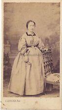 J. Garnier Photographe à Avignon Portrait studio cdv Vintage albumine ca 1860