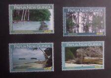 Papua New Guinea 2010 Climate Change Sinking Island SG1379/82 MNH UM unmounted
