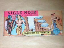 RARE BD A L'ITALIENNE / AIGLE NOIR N° 2 / TRAHISON AU VILLAGE / EO 9 / 10 / 1958