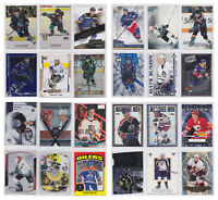 Parallel Insert Numbered Refractor Die-cut - Pick From List - NHL Hockey