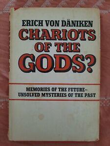 CHARIOTS of the GODS? Erich von Daniken 1969 Putnam BCE Book Club Edition HC DJ.