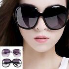Retro Women's Men's Eyewear Fashion Sunglasses Oversized Shades Classic Glass DE