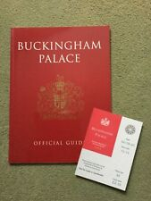 Buckingham Palace Official Guide Book & Entrance Ticket For State Rooms 1995