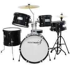 Rocket DKJ02BK 5 Piece Junior Drum Kit - Black