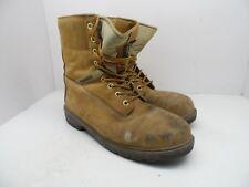 """Kodiak Men's 8"""" Prowalker Steel Toe Steel Plate Work Boots Tan Size 10.5M"""