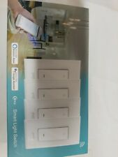 Smart Dimmer Switch Wifi Light Switch Work With Alexa Google Home 4 pc