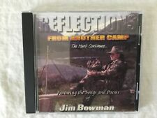 BOW HUNTING POEMS & SONGS CD REFLECTION FROM ANOTHER CAMP JIM BOWMAN EUC OUTDOOR