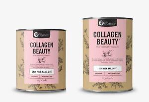 New Nutra Organics Collagen Beauty Verisol + Vitamin C Unflavoured 225g 450g