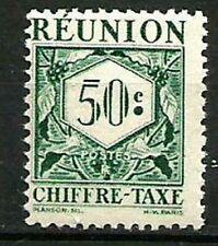 REUNION  Taxe 28 Neuf * charnière