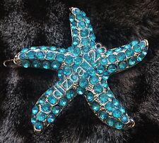 Disney Sephora D23 Little Mermaid Ariel Starfish Swarovski Hair Clip RARE