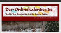 TOP-Domain !  ***  www.  Der-Onlinekalender  .de  *** - gerne mit Start-Projekt