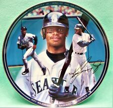 "Bradford Exchange 1998 Ken Griffey Jr. ""1997 Rbi Leader"" collectable plate"