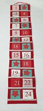 Heaven Sends Extra Large Wall Hanging Reusable Fabric Advent Calendar NEW