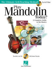Play Mandolin Today Level 1 Learn How To Beginner Music Lessons Tab Book Cd