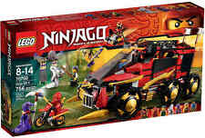 "LEGO® NINJAGO™ 70750 ""Mobile Ninja-Basis"" Pythor Anacondrai Rar 2015 NEU/OVP!"