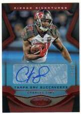 2016 Panini Certified Mirror Signatures Red AUTO /60 #16 Charles Sims Buccaneers