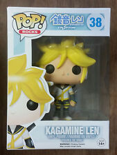 Funko POP! Rocks Crypton Kagamine Len 38 Vinyl Figure (Vaulted)