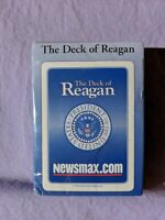 The Deck of Reagan Playing Cards Newsmax.Com 2009 President Of United States Set