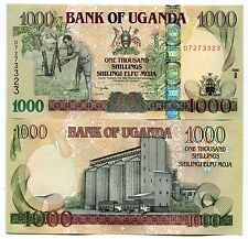 UGANDA P43 2009 1000 SHILLINGS UNC Banknote MONEY - x 10 NOTE DEALER/COLLECTOR