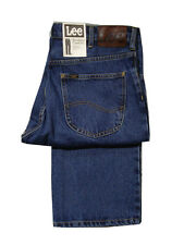 MENS BIG & TALL LEE BROOKLYN COMFORT FIT JEAN - DARK STONE WASH