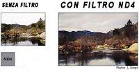 FILTRO GRIGIO NEUTRO ND4 P153 OBIETTIVO ADATTO PER COKIN OLYMPUS LEICA PANASONIC
