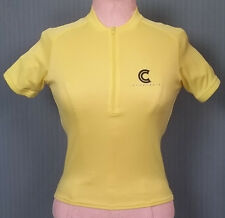 Cannondale Adult Small Yellow Bicycling Jersey Shirt (Bicycling Tour de France)