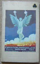Exposition de Physique et de T.S.F. - Grand Palais 1923