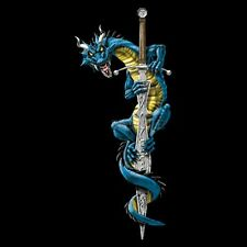 Dragon On a Sword T Shirt You Choose Style, Size, Color Up to 4XL 10099