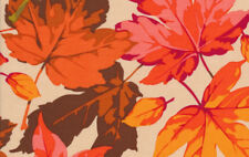 Martha Negley Autumn Medley Maples Fabric in Coral MN46-Coral 100% Cotton