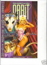 ORBiT #1 vfn/nm 1990 Isaac Asimov classic Dave Stevens cover Eclipse comics