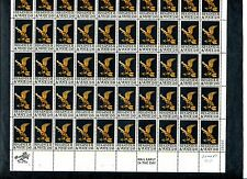 {BJ stamps} #1344  6 cent Sheet of 50.  MNH.  Register and Vote.  Issued in 1968