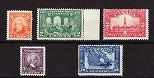 CANADA 1927 CONFEDERATION SET SG 266-270 MNH.