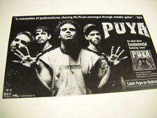PUYA ...punkrockismo ...Mo 'Rican merengue Original 1999 music biz promo advert