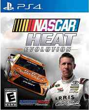 NASCAR Heat Evolution Sony PlayStation 4 PS4 Driving Racing Video Game 2016 New